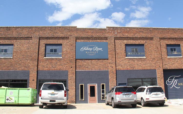Photo of Fishing River Market facade improvements