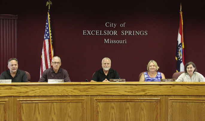 Excelsior Springs City Council photo