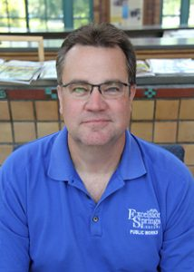 Public Works Director Chad Birdsong