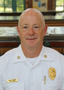 Fire Chief Paul Tribble