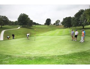 Golfers on Excelsior Springs Golf Course