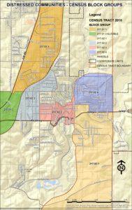 Thumbnail Eligible Neighborhood Preservation Map