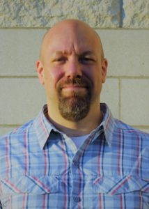 Photo Senior Center Director Jeff Barge