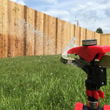 Photo Garden Sprinkler
