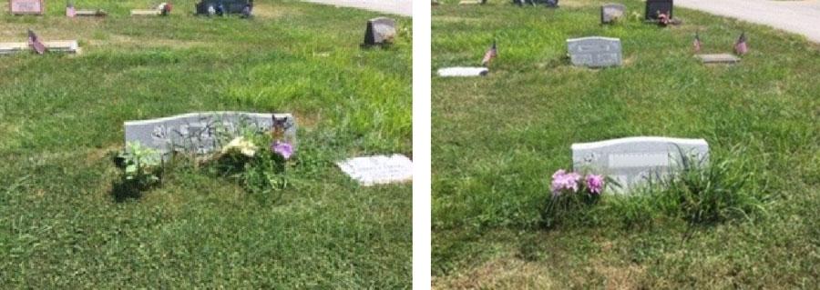Cemetery Headstones illustration