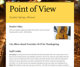 Point of View Newsletter v1 issue 2