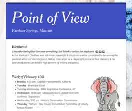 Point of View Newsletter v2 issue 6
