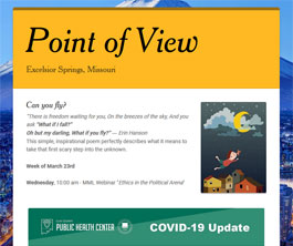 Point of View Newsletter v2 issue 11