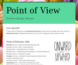 Point of View Newsletter v2 issue 8