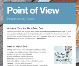 Point of View Newsletter v2 issue 9
