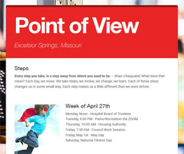 Point of View Newsletter v2 issue 17