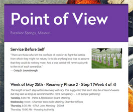 Point of View Newsletter v2 issue 21