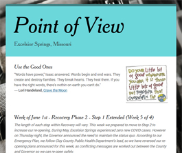 Point of View Newsletter v2 issue 22
