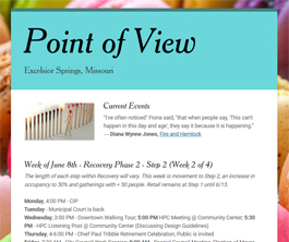 Point of View Newsletter v2 issue 23