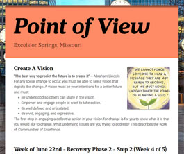 Point of View Newsletter v2 issue 25