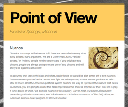 Point of View Newsletter v2 issue 28
