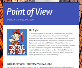 Point of View Newsletter v2 issue 29