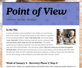 Point of View Newsletter v3 issue 1