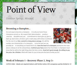 Point of View Newsletter v3 issue 5