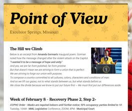 Point of View Newsletter v3 issue 6