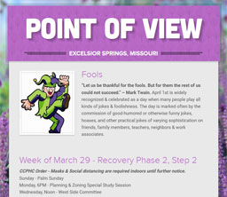 Point of View Newsletter v3 issue 13