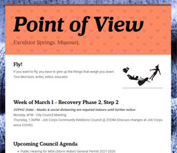 Point of View Newsletter v3 issue 9