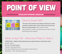 Point of View Newsletter v3 issue 14