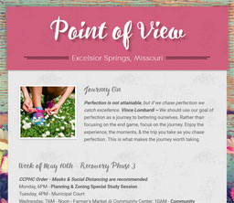 Point of View Newsletter v3 issue 18