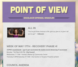 Point of View Newsletter v3 issue 19