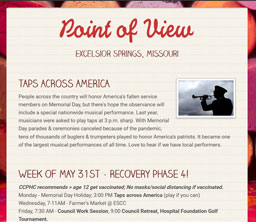 Point of View Newsletter v3 issue 21